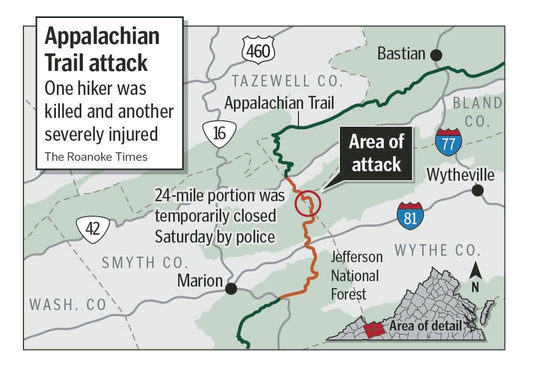 Hiker killed on Appalachian Trail identified | Crime ...
