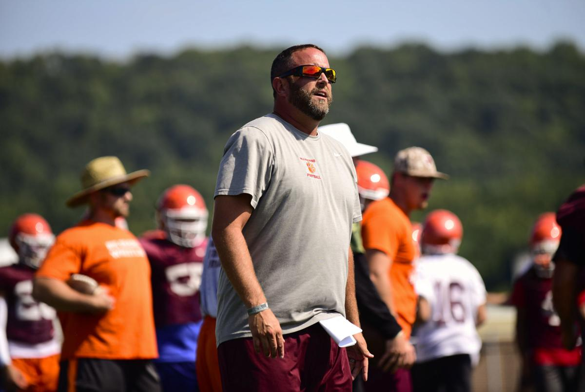 William Byrd football coach Brad Lutz