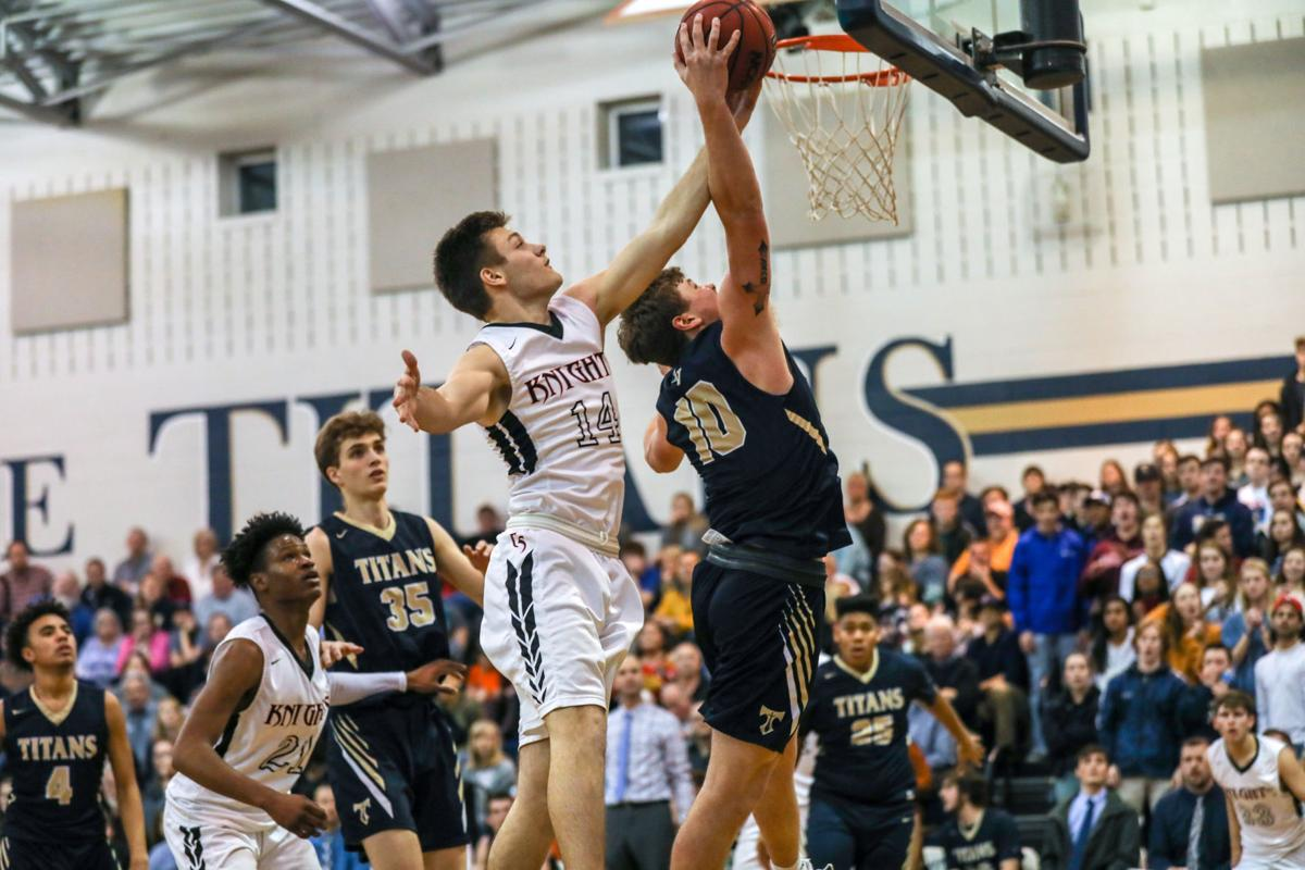 H S Boys Basketball Cave Spring Downs Rival Hidden Valley In