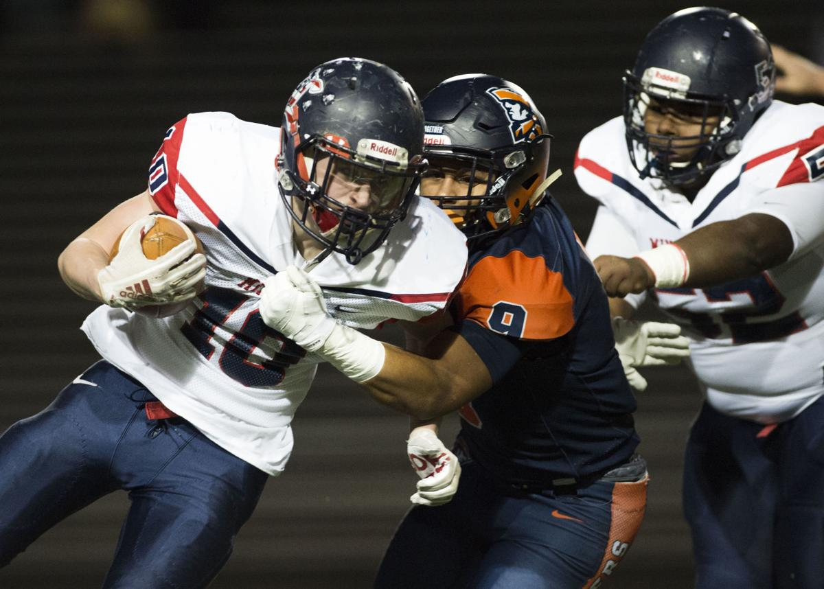 H S Football Heritage Pulls Away From Liberty In 4th