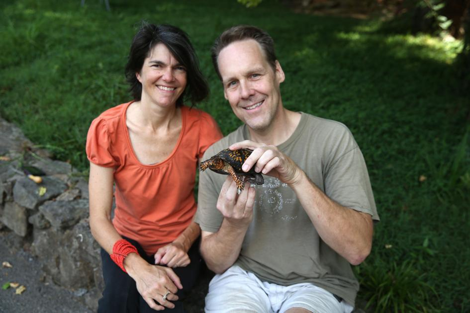 Muse family tradition documents Eastern box turtles on Roanoke County property