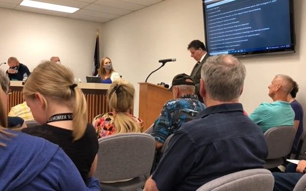 Botetourt County School Board meeting July 9, 2021