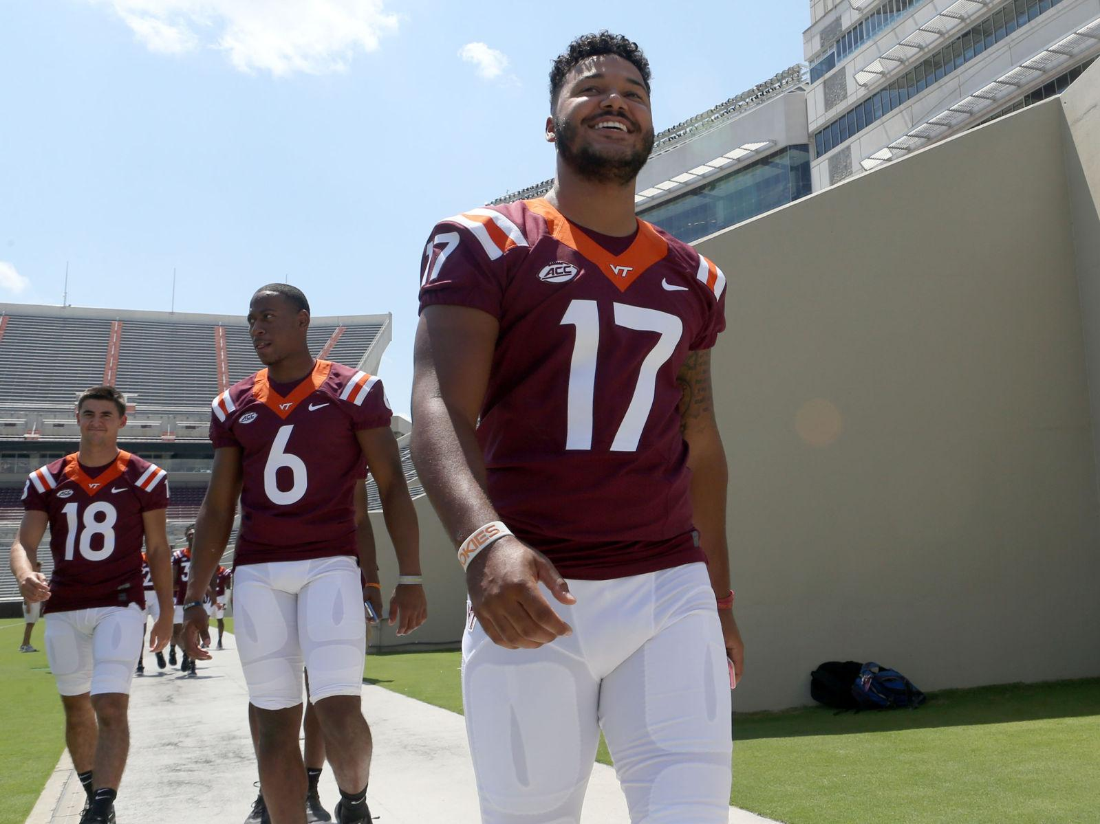Virginia Tech Releases Depth Chart For Week 1 Matchup Against West Virginia Virginia Tech Roanoke Com
