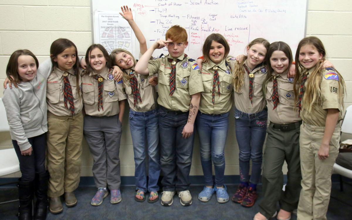 Girls scouts of virginia popping bootys