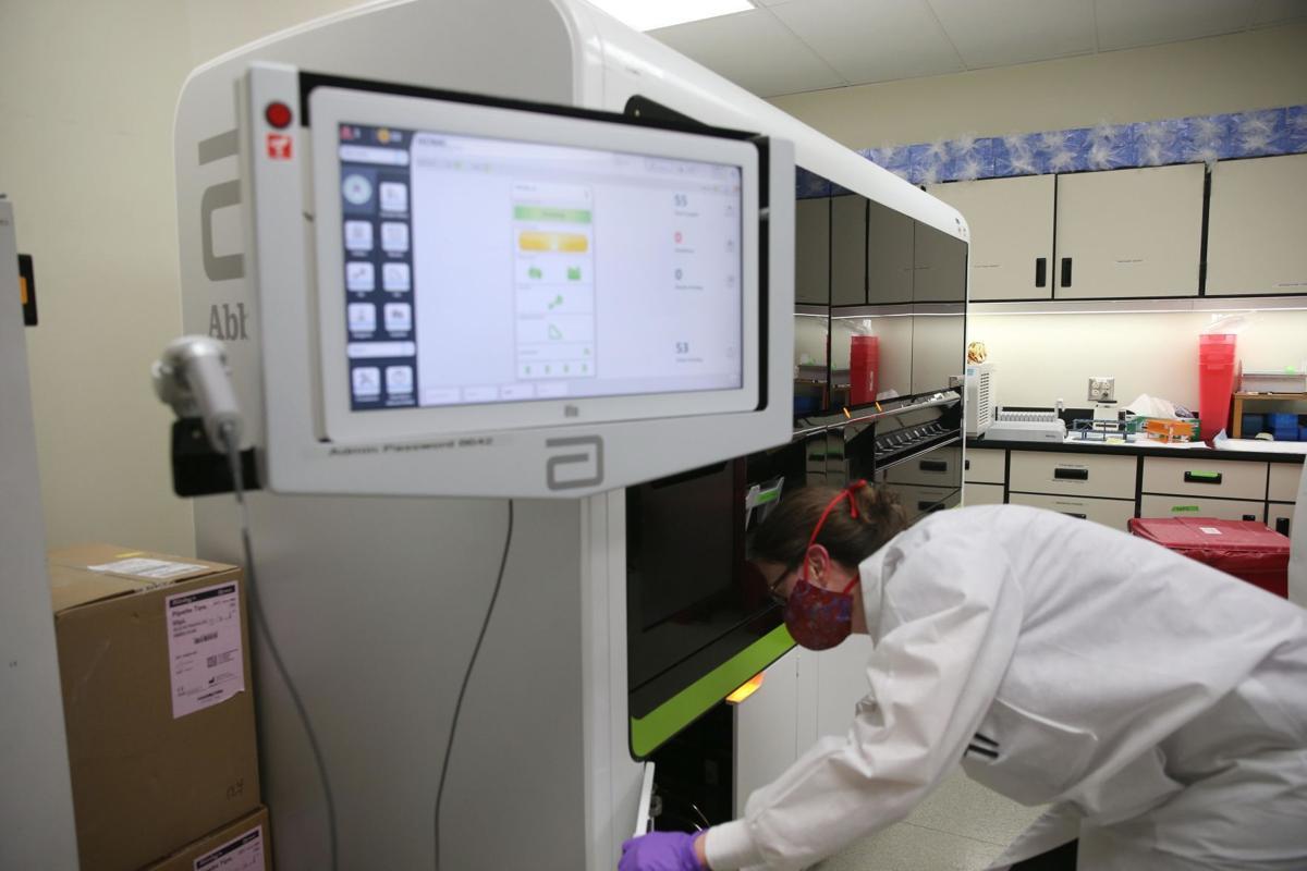 COVID-19 testing at UVa