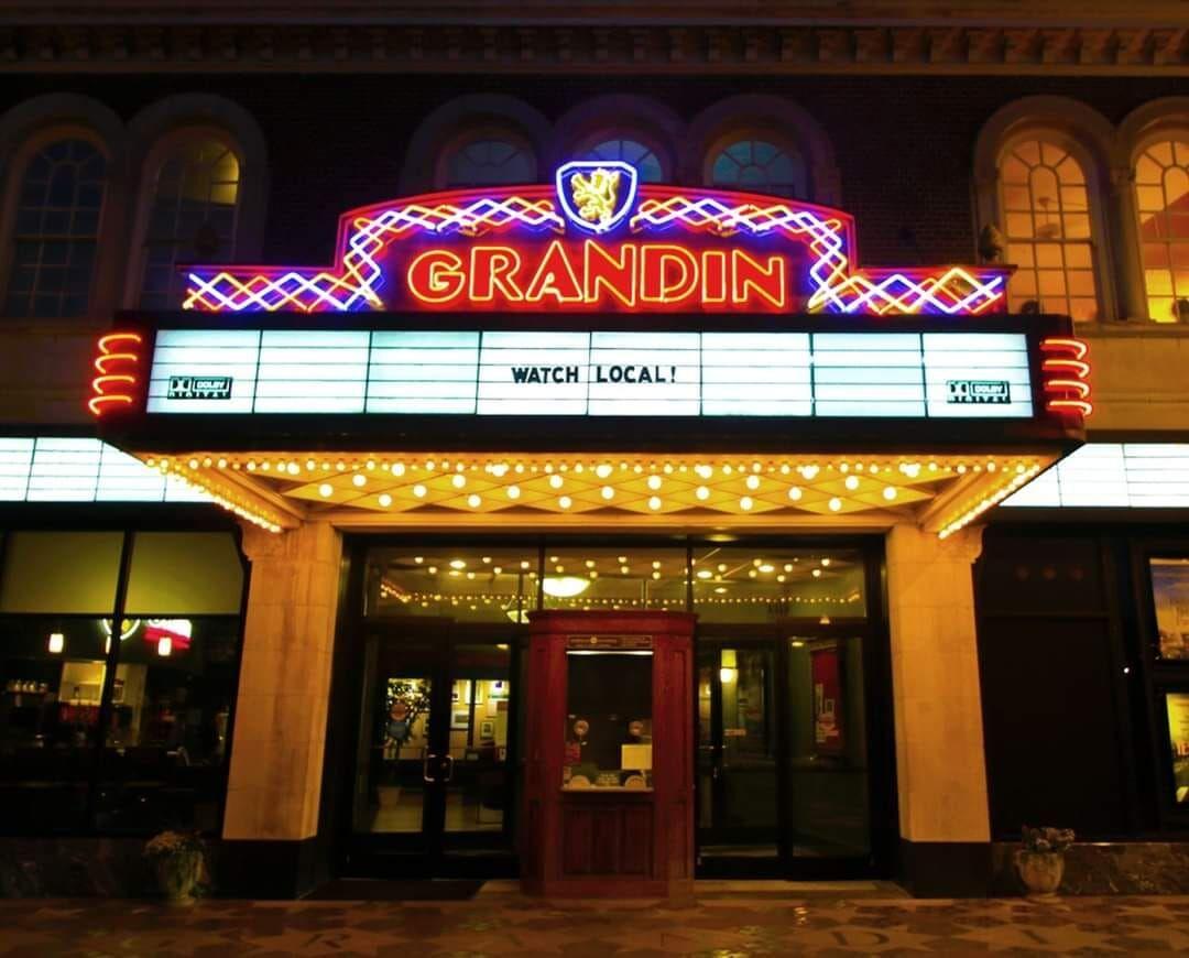 Grandin Theatre marquee