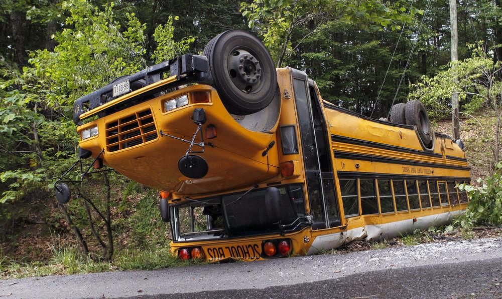 Students shaken up in Botetourt County bus crash | Webmin | roanoke com