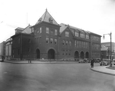 Roanoke High School at Church Avenue