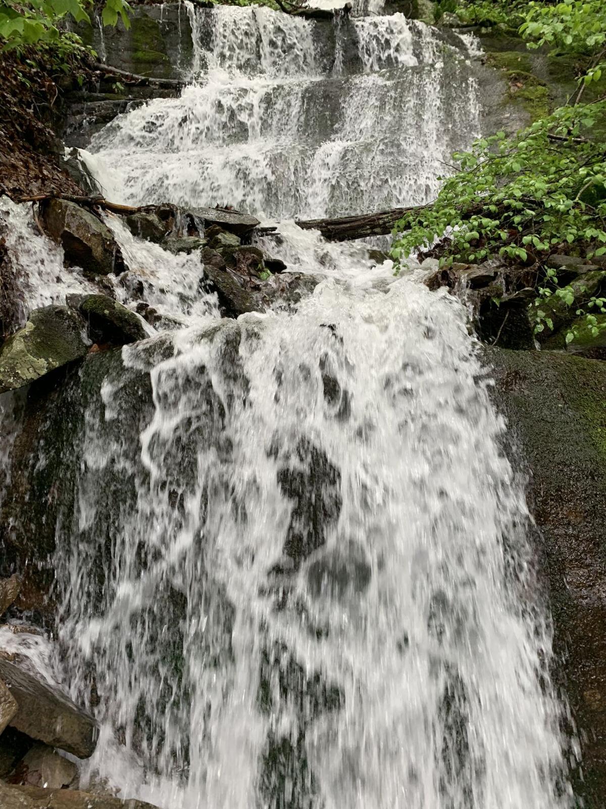 Wet weather waterfall