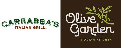olive garden vs carrabbas