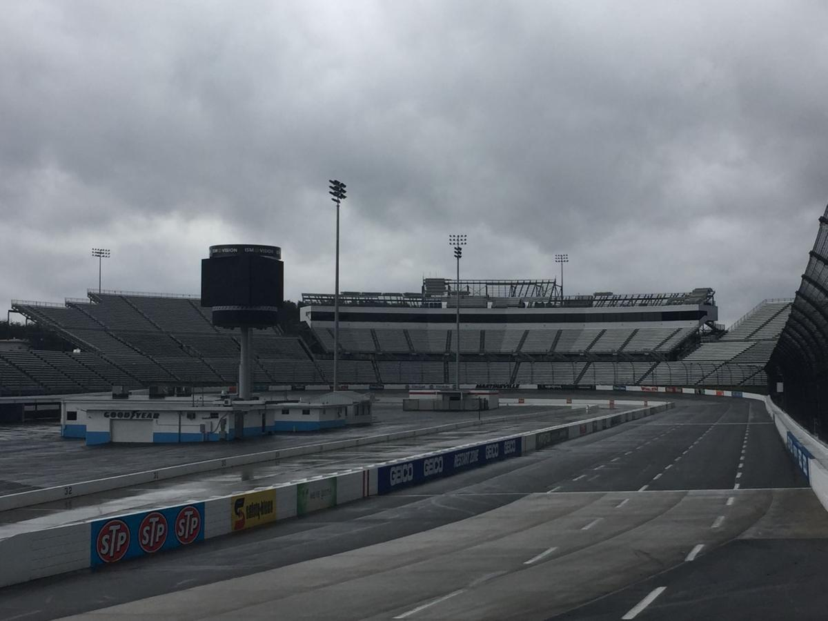 Martinsville Speedways Latest Renovations Include Removal