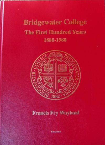 Bridgewater College book cover 113019
