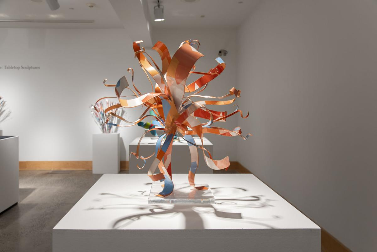 """Dorothy Gillespie: Tabletop Sculptures"" One"