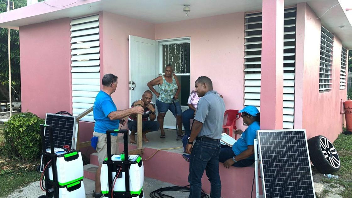 CASEY: Roanoke-area Methodists get relief job done in Puerto Rico