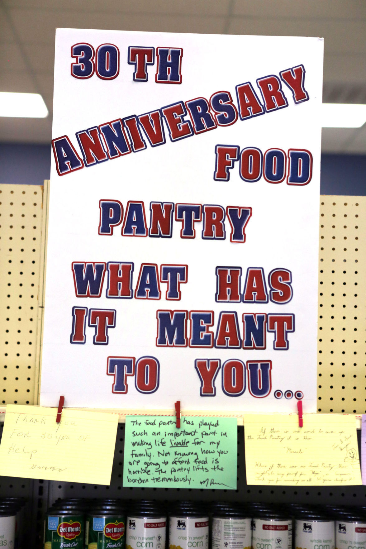 Blacksburg interfaith food pantry celebrates 30 years for Interfaith food pantry blacksburg