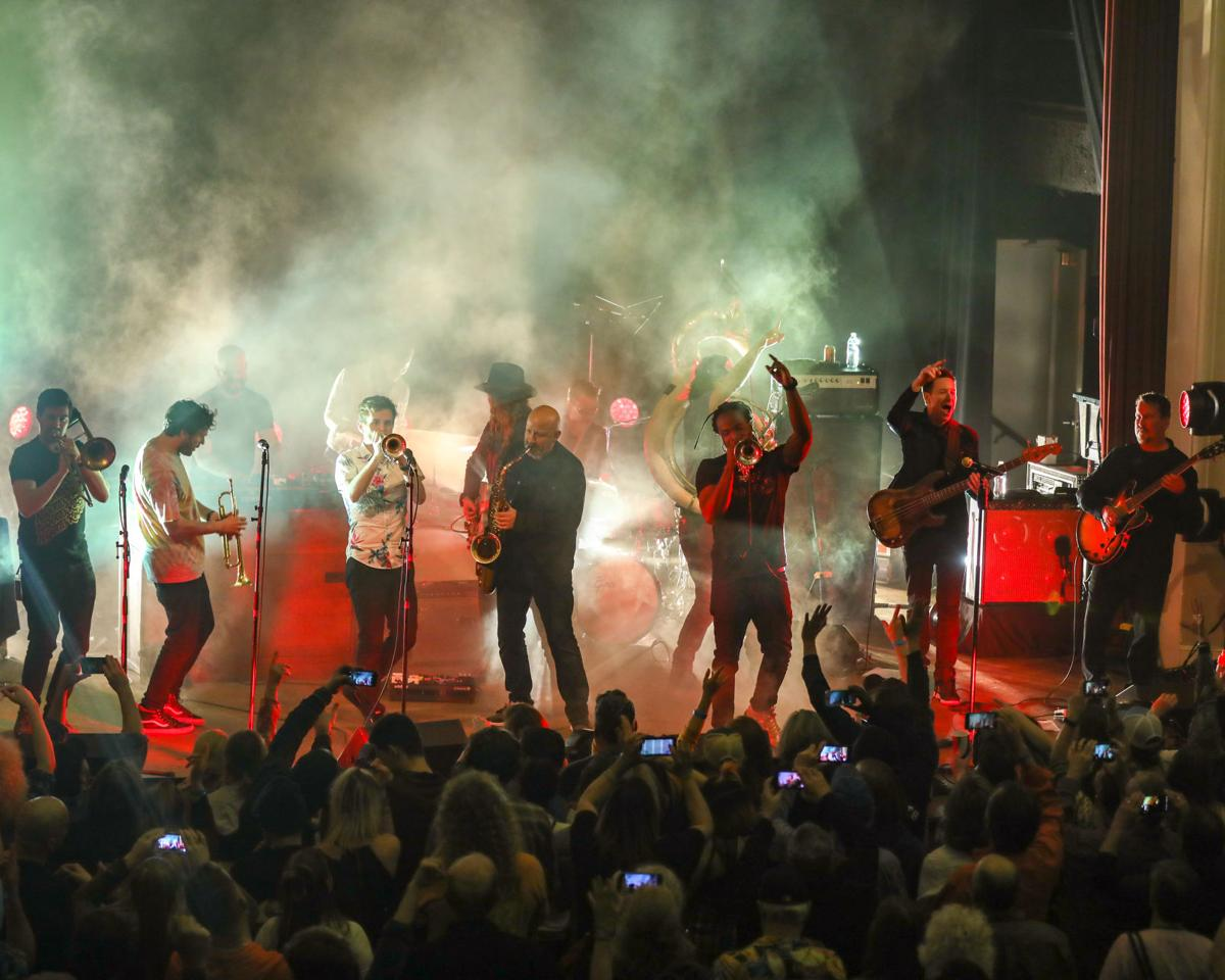 Galactic brings New Orleans jazz, funk and jam to The ...