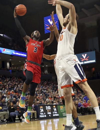 Stony Brook Virginia Basketball