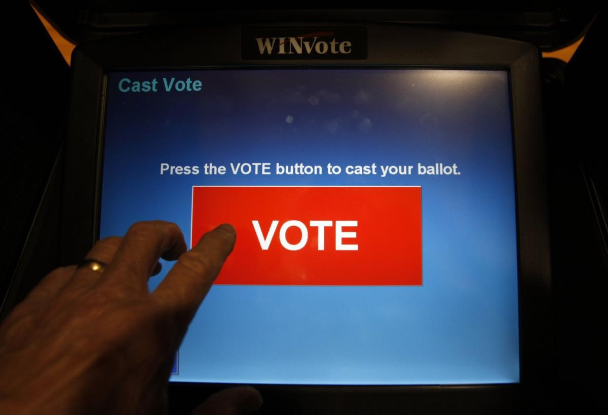 In emergency meeting virginia elections board votes to scrap all touchscreen voting machines