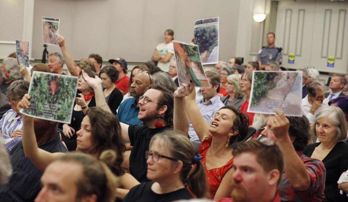 Pipeline opponents jeer State Water Control Board