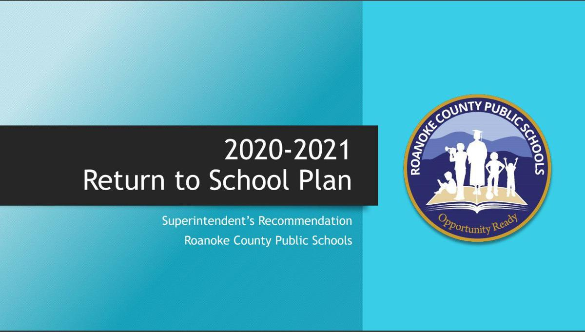 Roanoke County Return to School Plan cover 063020