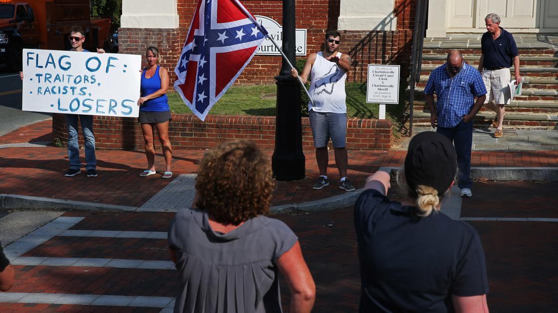 Judge rejects 14th Amendment claim in Confederate statues lawsuit