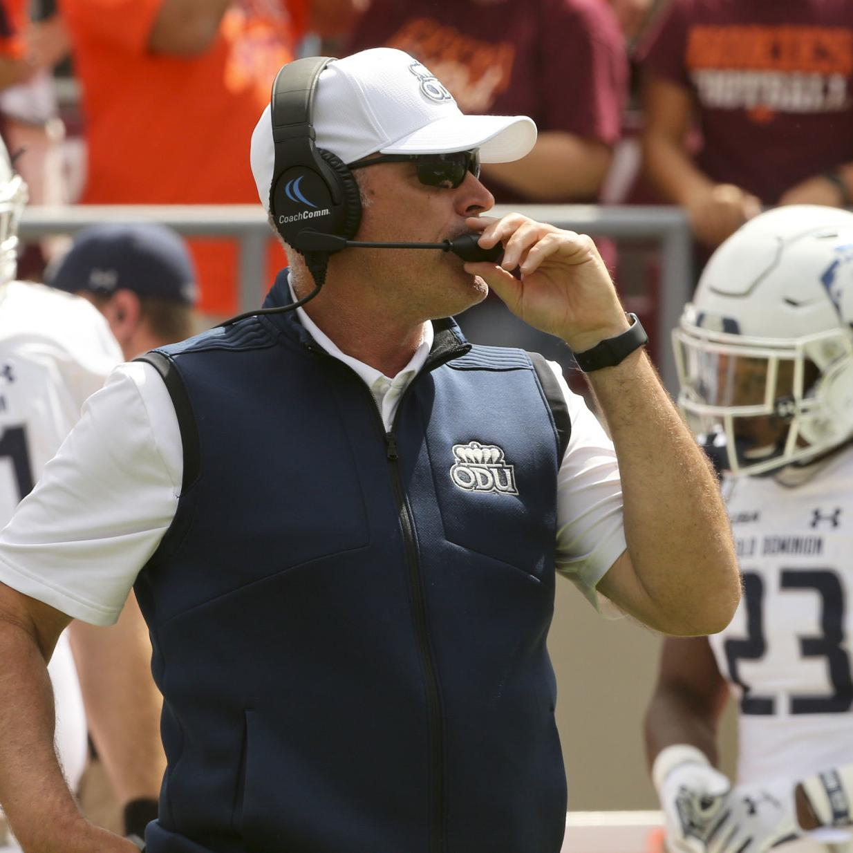 Uva Football Odu Wary Of No 21 Ranked Cavaliers College