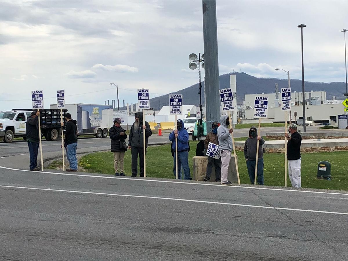 Volvo strike