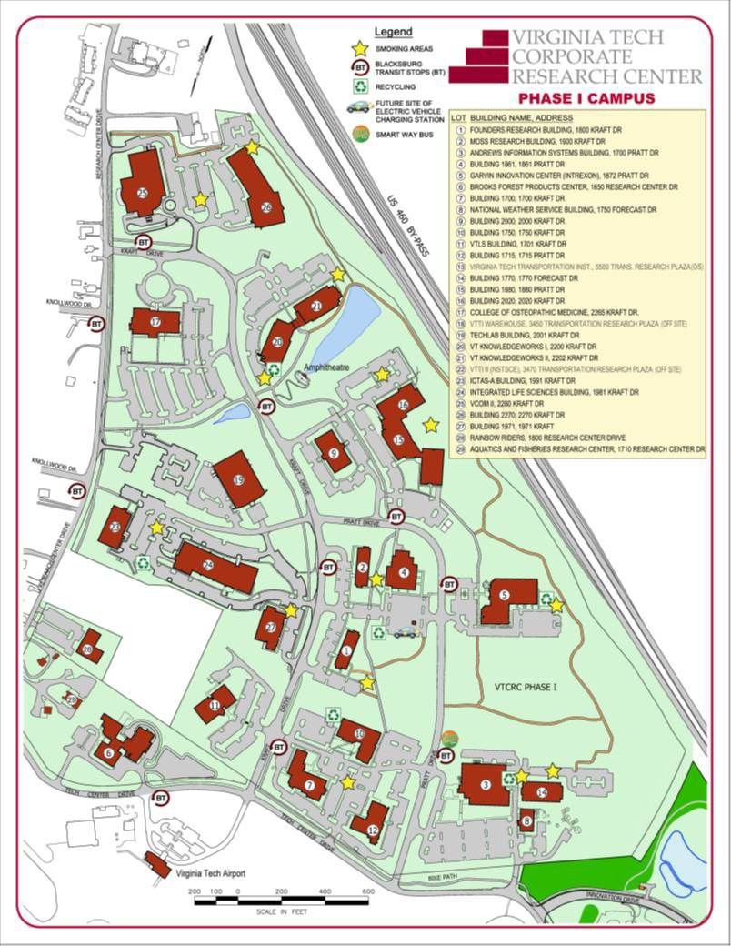 Popular 256 List Vt Campus Map