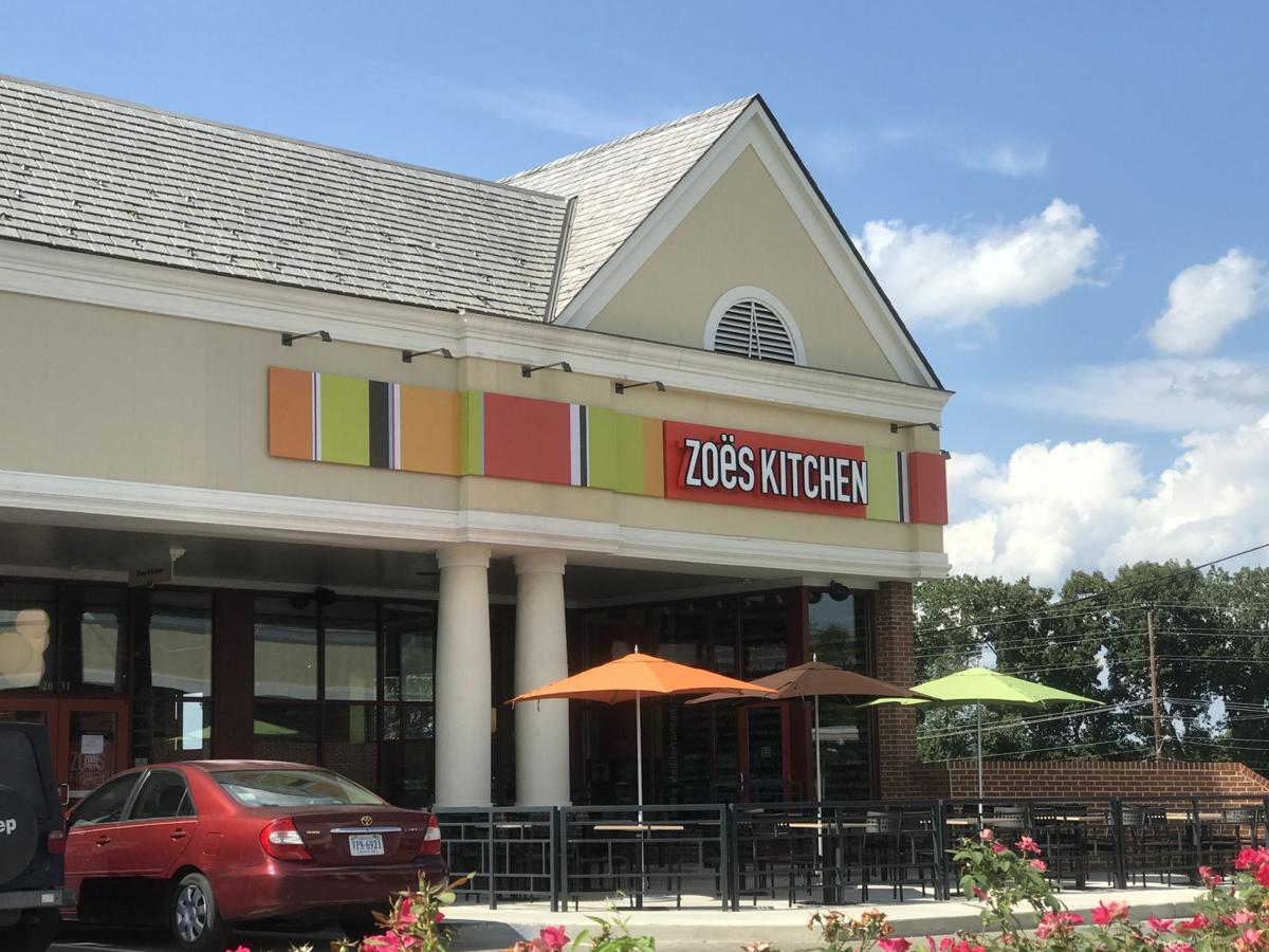 Zoes Kitchen zoes kitchen opens in roanoke | storefront | roanoke