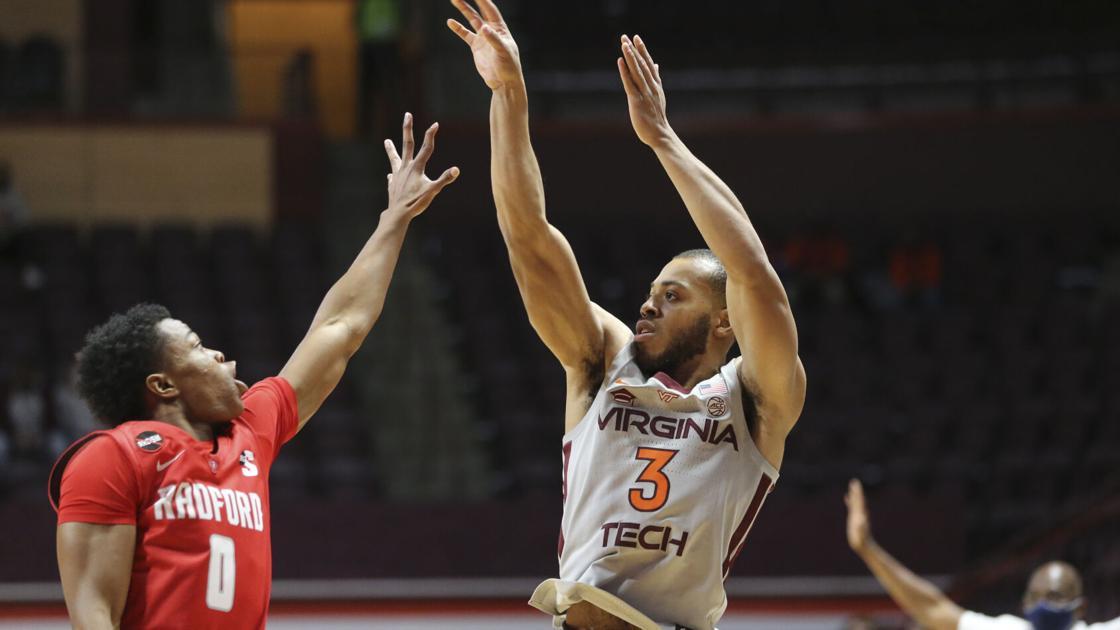 Virginia Tech beats Radford in men's basketball opener