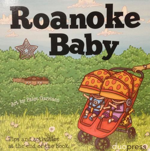 roanoke baby board book
