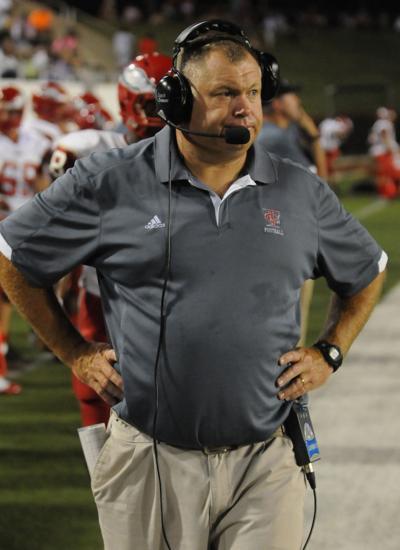 Covington football coach Chris Jones