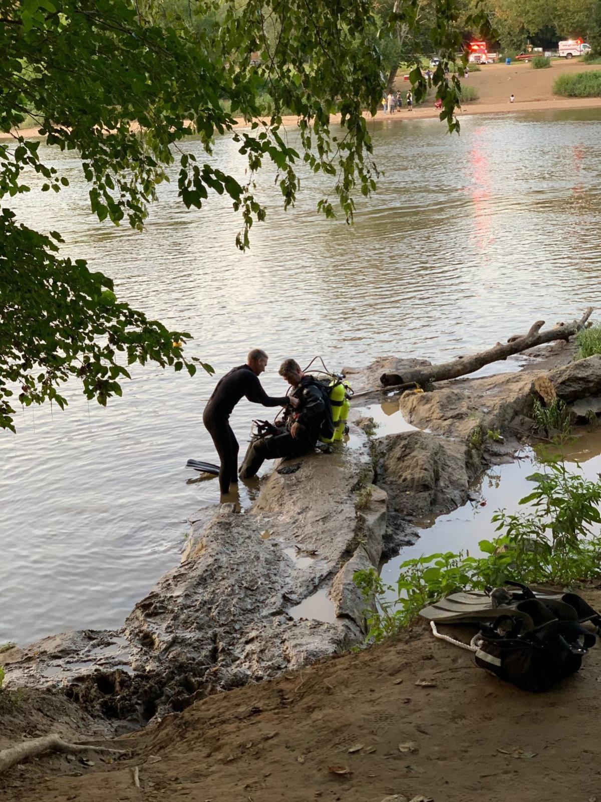 Rappahannock River search