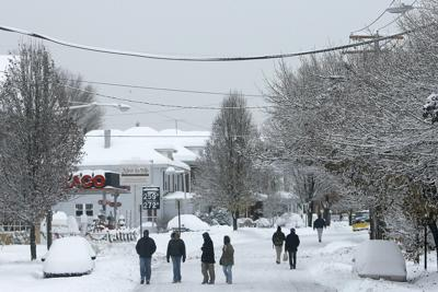 December 2009 snowfall picture