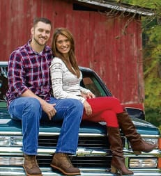 Hayden - Tucker Engagement - Roanoke Times
