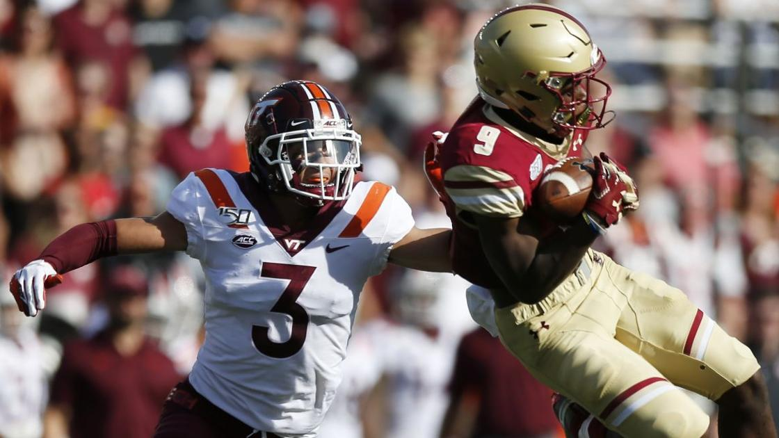 Virginia Tech football: Turnover-troubled Hokies tripped up by BC - Roanoke Times