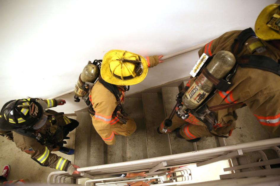 Stair Climb Memorial Pays Tribute To Fallen 9 11