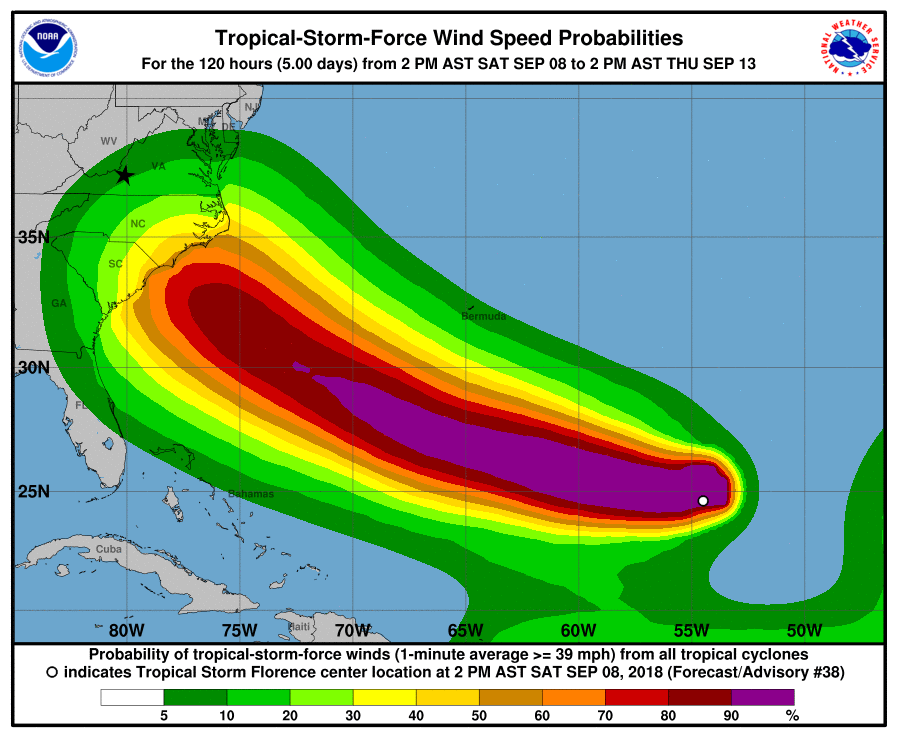 Florence: Take it seriously, which means preparation, not panic ...