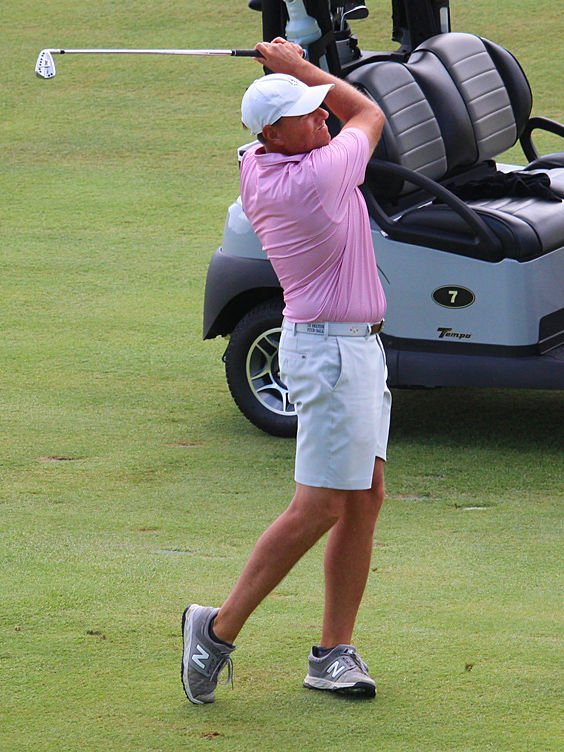 Justin Young f Salem finished secnd at nine under-55 under on Saturday.jpg