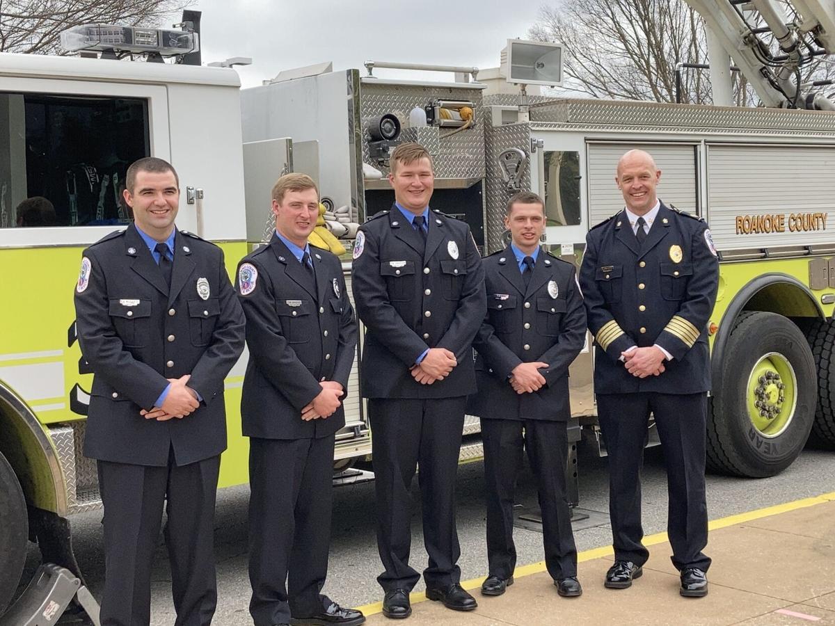 Roanoke County Fire & Rescue class 27