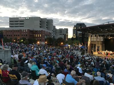 The Roanoke Symphony Orchestra at the Star City Arts Festival