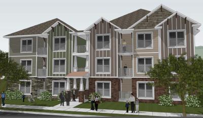Brandon Avenue Apartment Rendering