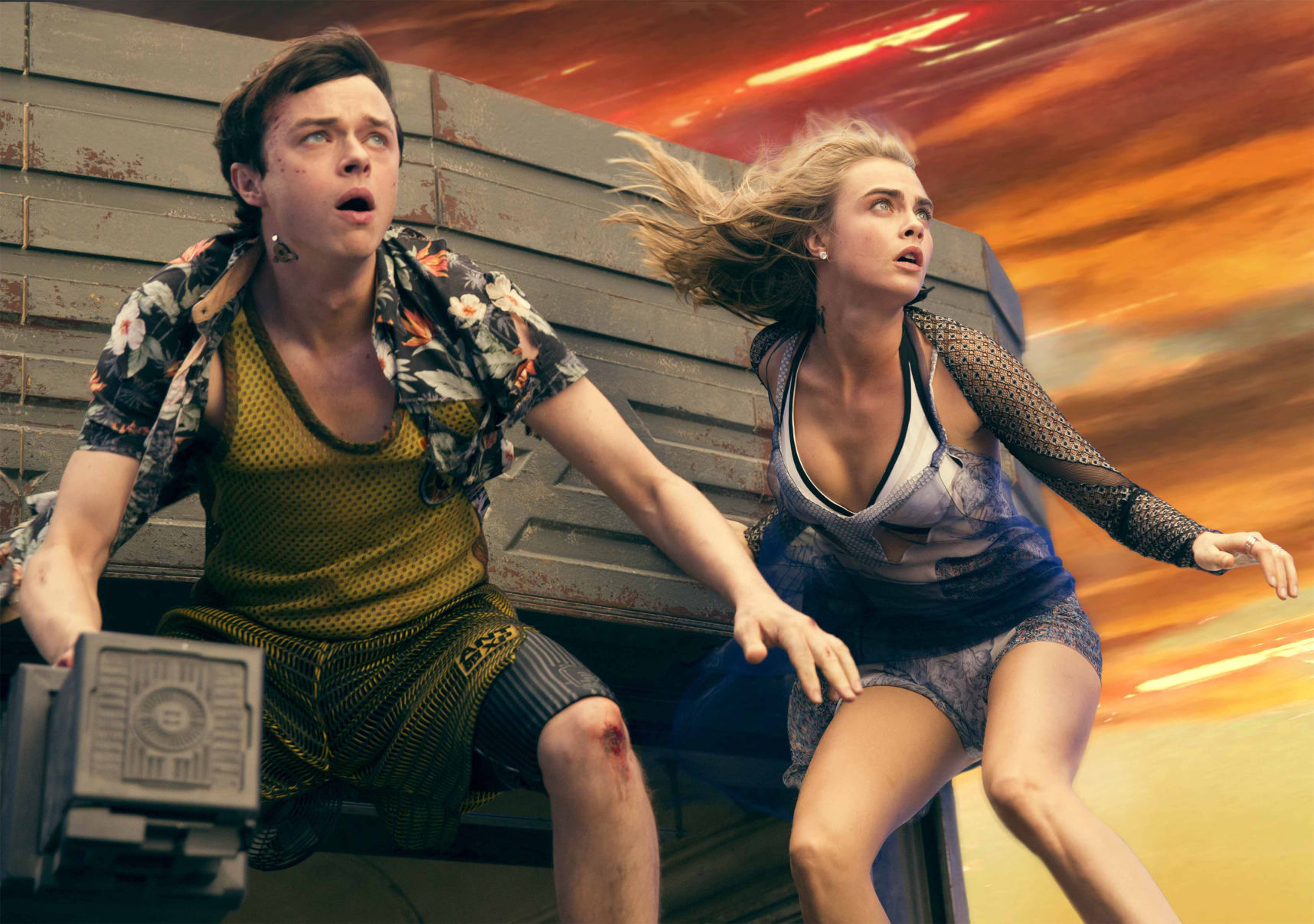 Cara Delevingne heading for an Oscar says Valerian director Luc Besson