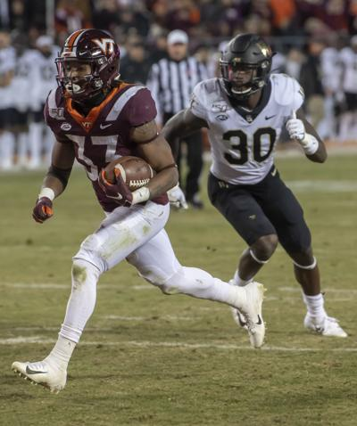 Virginia Tech wins on Bud Foster Day