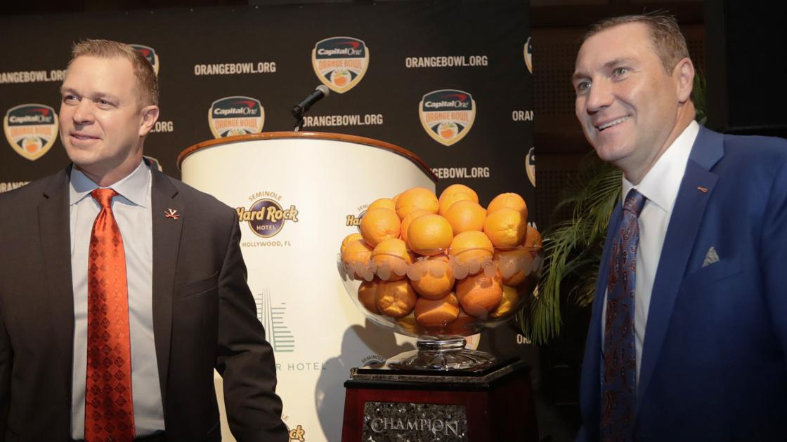 UVa football: Cavs coach Mendenhall has some history with Florida's Dan Mullen