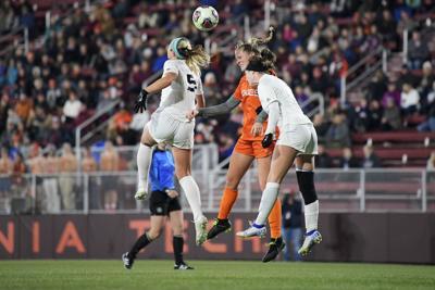 In The Region Virginia Tech Falls In Ncaa Women S Soccer