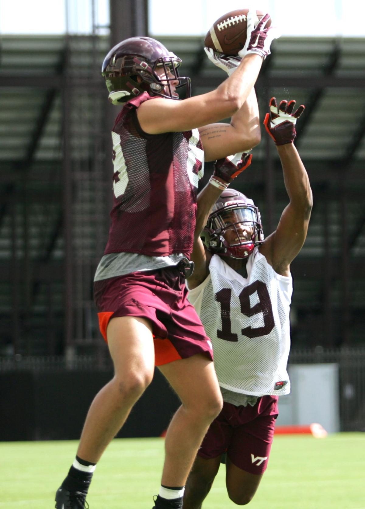 Virginia Tech fall practice Aug. 3