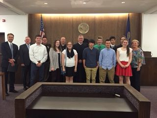 Hidden Valley Middle School holds annual Mock Trial