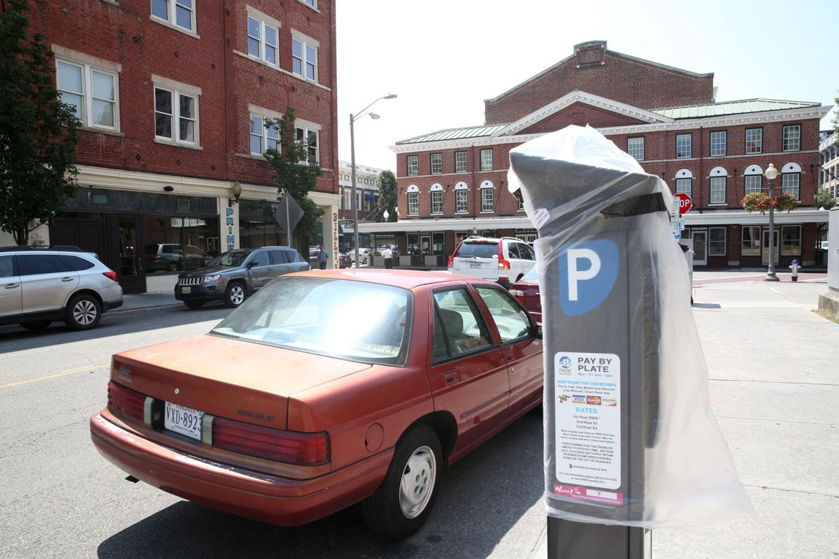 Downtown Roanoke parking