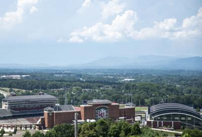 Liberty University from above LYN